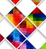 Abstract multicolored with net
