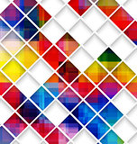 Abstract multicolored with small net