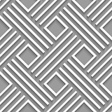 Gray crossed lines and squares seamless