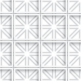 Seamless white layered net background