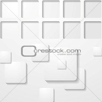 Grey abstract tech design