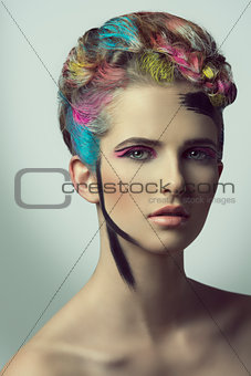 beautiful artistic shoot of girl