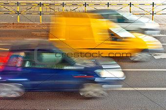 City traffic detail