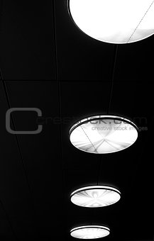 Abstract ceiling lamp