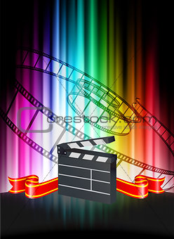 Clapper on Abstract Spectrum Background