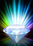 Diamond on Abstract Spectrum Background
