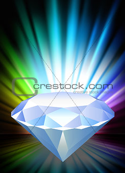 Diamond on Abstract Spectrum Background