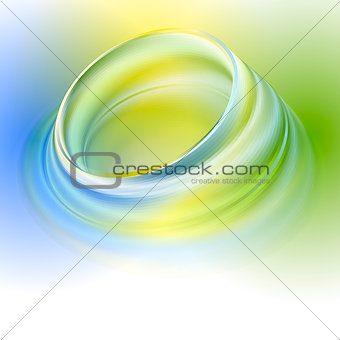 Green yellow blue abstract background