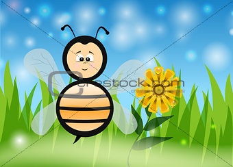 Bee in The Summer