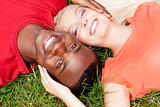 young couple in love summertime fun happiness romance
