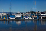 California yacht harbor