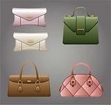 Female bags.