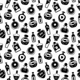 Seamless perfumes pattern