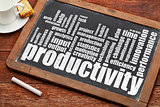productivity word cloud