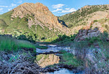 Eagle Nest Rock iand Poudre RIver