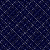 Dark blue seamless mesh pattern
