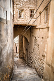 Narrow alley Birkat al mud