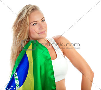 Admirer of Brazilian football team
