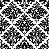Damask dainty seamless pattern