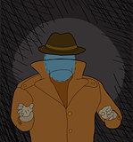 Scary Invisble Man