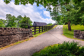 Country alley