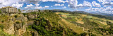 Ronda landscape panoramic view. (Sapin)