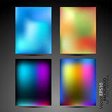 High tech abstract backgrounds collection