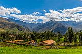 Yanama landscape Yungay Huaraz Peru