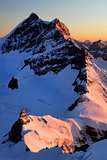 Jungfrau Peak  4158m and Jungfraujoch Station , Switzerland - UNESCO Heritage