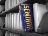 Seminar - Title of Book. Internet Concept.