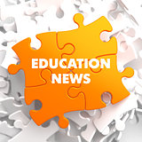 Education News on Orange Puzzle.