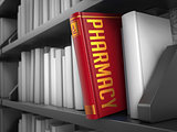 Pharmacy - Title of Red Book.