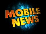 Mobil News - Gold 3D Words.
