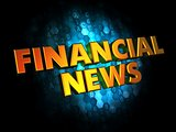 Financial News - Gold 3D Words.