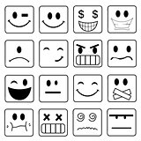 Vector Smile Icon Set