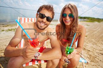 Beach toast