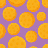 Round Cheese Flat Design