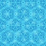 Blue Seamless Pattern Background