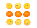 Orange and lemon fruits