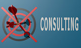 Dart board blue consulting