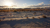 The White Sands desert is located in Tularosa Basin New Mexico.
