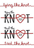 tying the knot, vector set