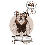 smart bulldog