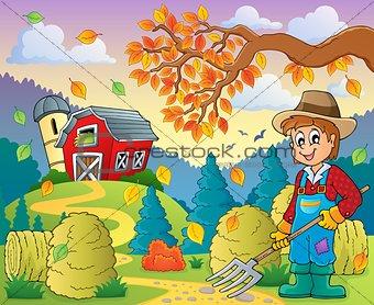 Autumn farm theme 8