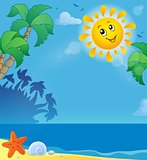 Summer holidays theme image 2