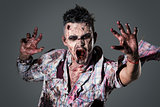 Scary zombie
