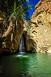 Waterfall Chebika Tunisia