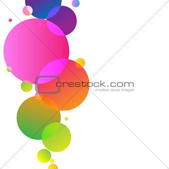 Bright Background From Balloons