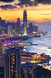 HongKong sunset