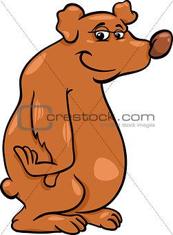 bear wild animal cartoon illustration